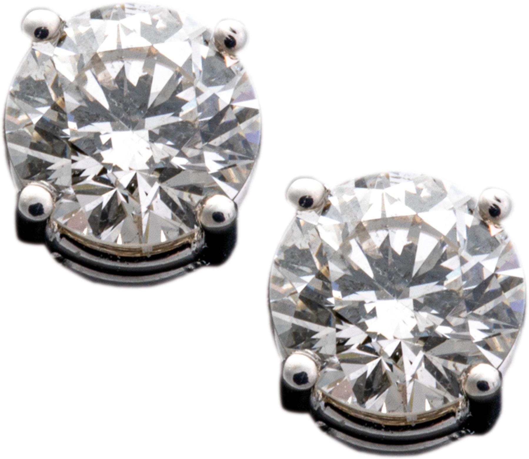 Solitär-Diamantohrstecker